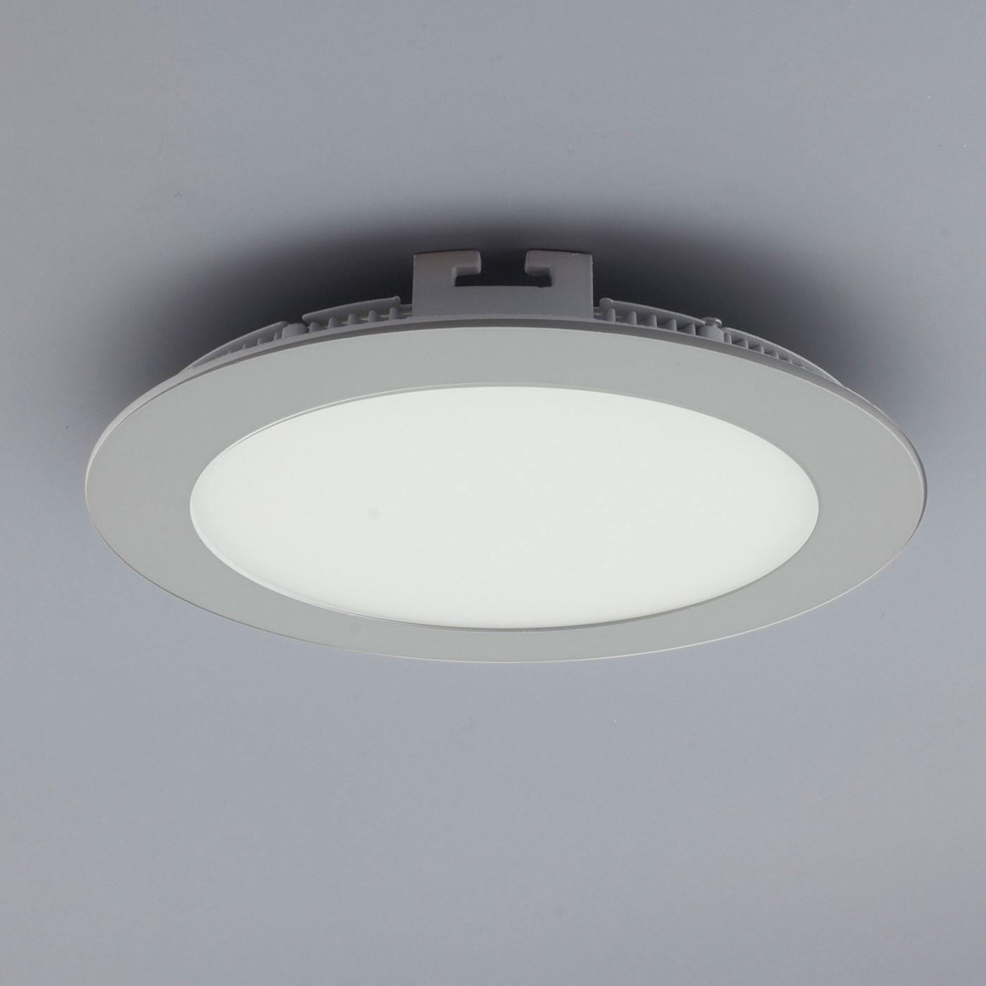 licht design 30562 einbau led panel 960 lumen dimmbar 17 cm neutral silber kaufen bei. Black Bedroom Furniture Sets. Home Design Ideas