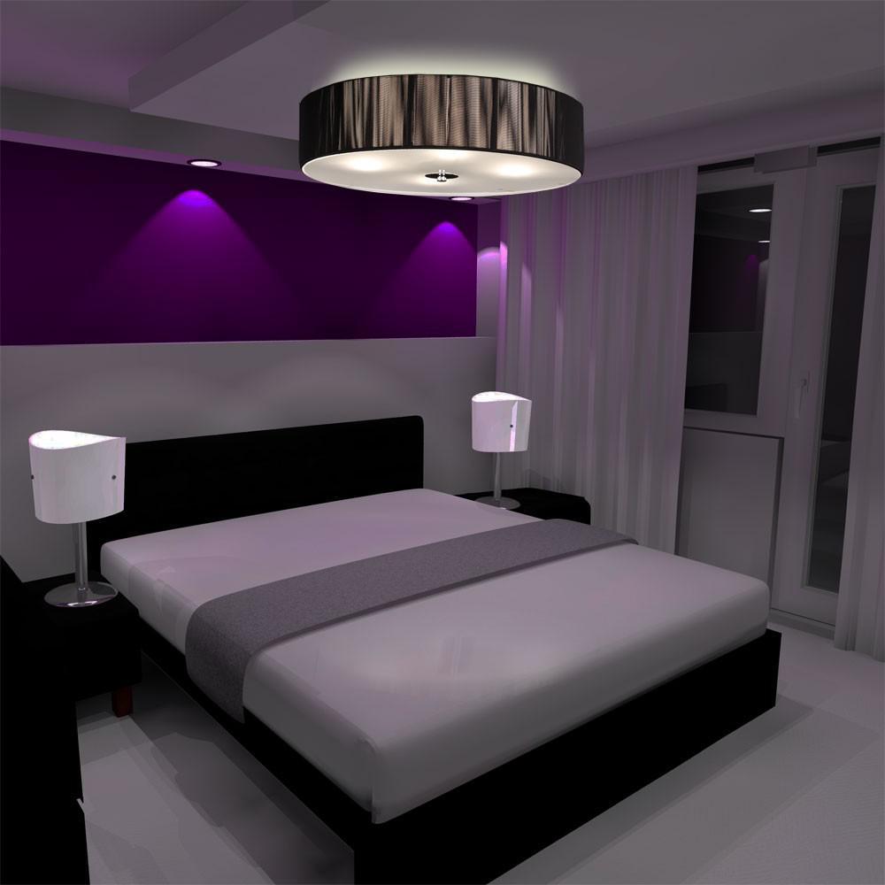 s luce twine l deckenleuchte mit textilschirm. Black Bedroom Furniture Sets. Home Design Ideas