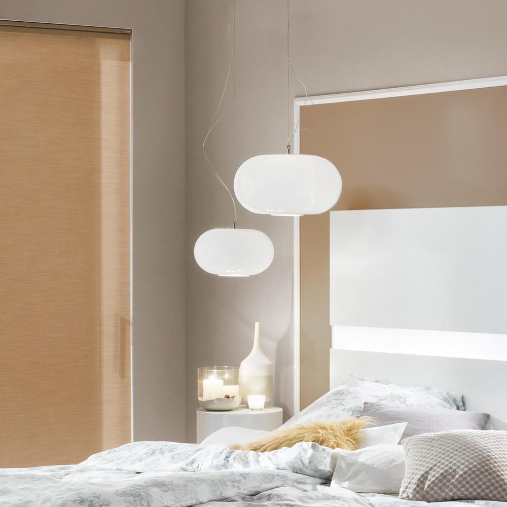 s luce blob m opalglas h ngeleuchte 35 cm weiss kaufen bei licht design skapetze gmbh. Black Bedroom Furniture Sets. Home Design Ideas