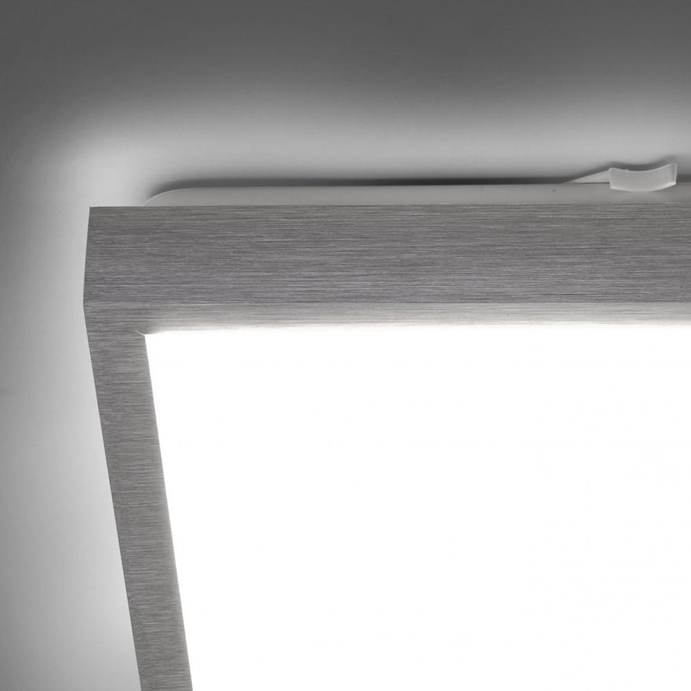 licht trend led deckenleuchte 30 x 30 cm alu matt deckenlampe kaufen bei licht design. Black Bedroom Furniture Sets. Home Design Ideas