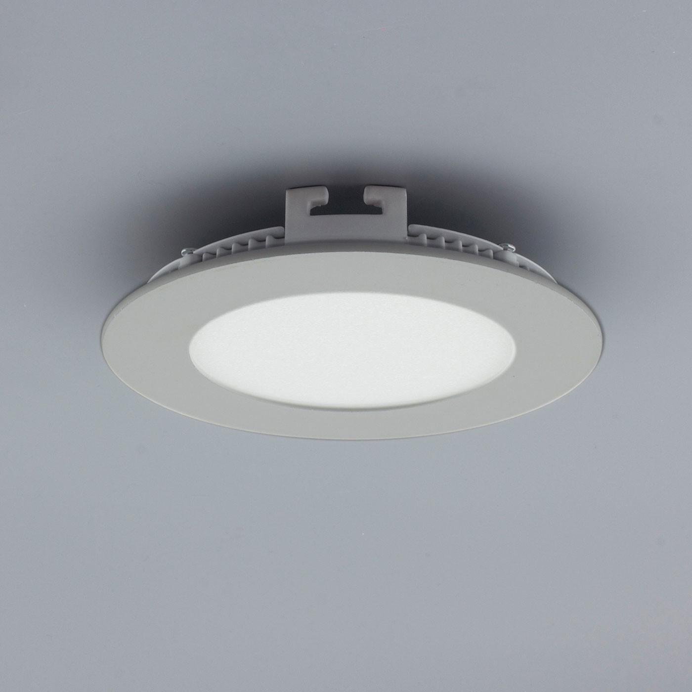 licht design 30841 einbau led panel 200 lumen dimmbar 9 cm kalt silber kaufen bei. Black Bedroom Furniture Sets. Home Design Ideas