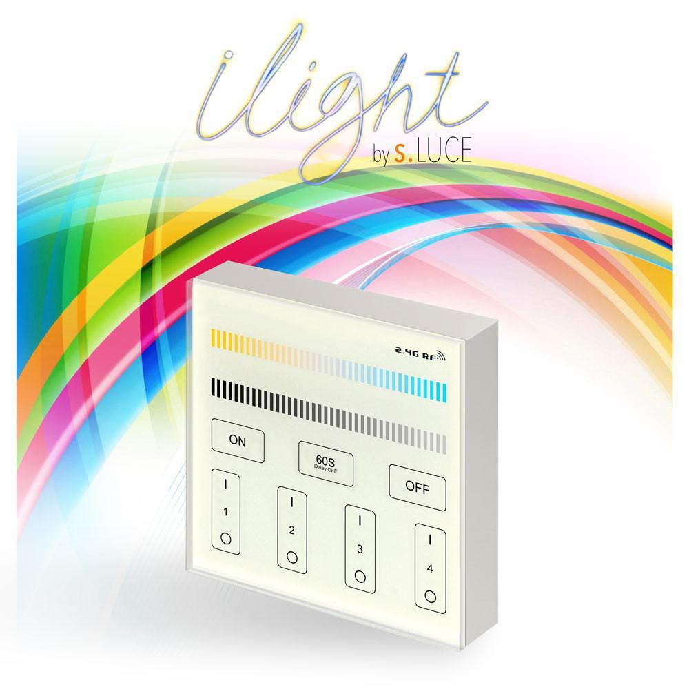 s luce ilight touch panel f r led leuchtmittel kalt warmweiss schalter kaufen bei licht. Black Bedroom Furniture Sets. Home Design Ideas