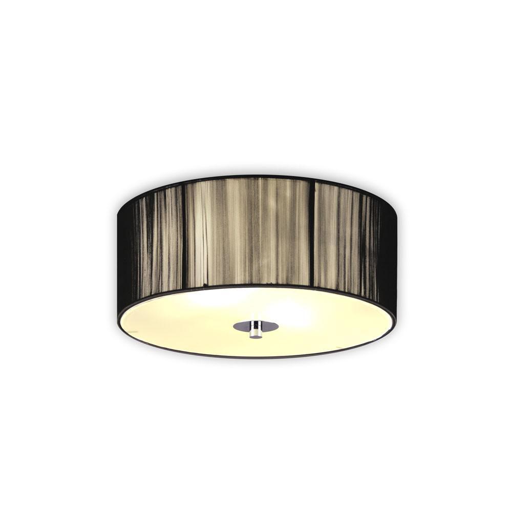 s luce twine s deckenlampe mit stoffschirm 30 cm. Black Bedroom Furniture Sets. Home Design Ideas