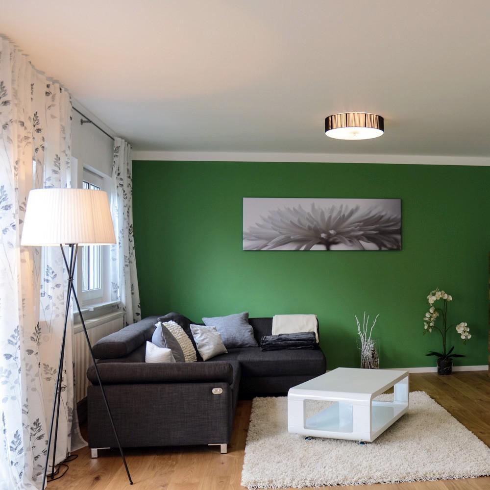 s luce twine m deckenleuchte mit stoffschirm deckenlampe. Black Bedroom Furniture Sets. Home Design Ideas