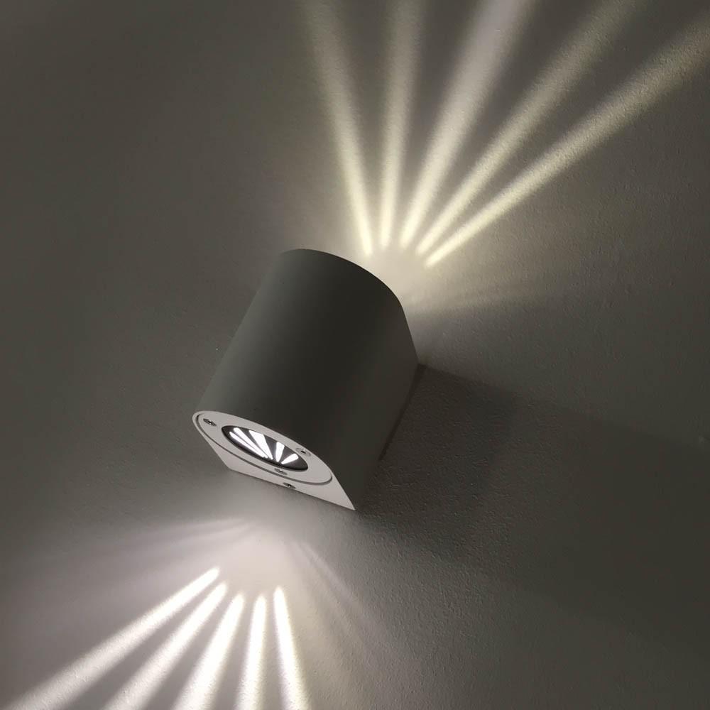 werbetafel beleuchtung strahler