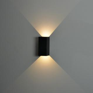 Nordlux Norma / LED Aussen-Wandleuchte / 2 x 167 Lumen / grau / Wandlampe - Vorschau 4