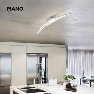 Grossmann 78-765-072 Piano LED-Deckenleuchte 114 cm / 5440 Lumen / Alu-matt