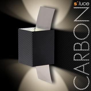 s.LUCE Carbon Gyhum / LED Wandleuchte / Wandlampe