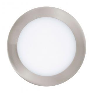 Fueva / LED-Einbaupanel Ø 17 / 1200 lm warmweiss / Alu-matt dimmbar