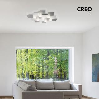 Grossmann 74-770-072 Creo LED-Deckenleuchte 4-flammig / 55 x 38 cm Alu-matt