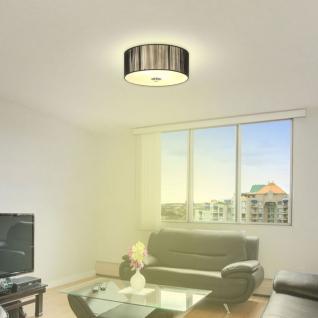 S luce twine s deckenlampe mit stoffschirm 30 cm for Stofflampe decke