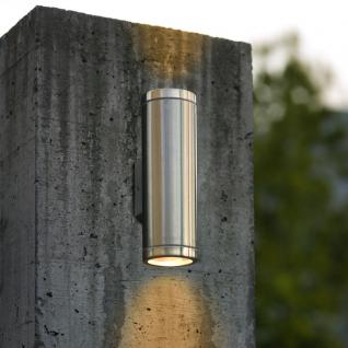 Eglo 84002 Riga / Aussen-Wandleuchte / 2-flammig / Edelstahl