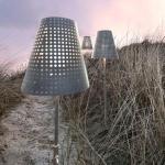 Nordlux Fuse / Außen Stehleuchte / Inkl. Erdspieß / 165x35cm / verzinkt / Pollerlampe / Sockellampe