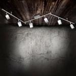 LeuchtenDirekt 11246-17 Wella LED Deckenleuchte schwenkbar / 6 x 4, 20W / 3000K / Chrom