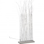LeuchtenDirekt 86204-16 Forest LED Dekolampe mit weißen Ästen / 60x 0, 03W / 2700K / Weiss