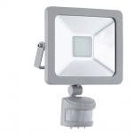 Eglo 95408 LED Sensor Aussenstrahler Faedo 1 / 20W / 1900 Lumen / Silber