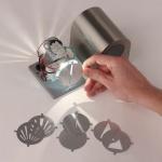 s.LUCE Radial / 7er Set Lichtfilter / rund / Zubehör Innen