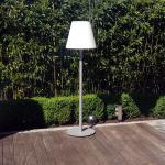 Licht-Trend Pando L / Außenstehleuchte H 152cm / Ø 34 cm / Schwarz