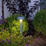 Konstsmide 7910-310 Pesaro LED Wegeleuchte mit Fundament / Grau