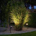 Konstsmide 7648-000 Amalfi LED Erdspießleuchte 1-flg. / 12V / Schwarz