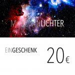 Einkaufsgutschein / 20,- Euro