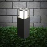 s.LUCE Cube LED Sockelleuchte 30cm Poller 10W / LED Standleuchte Sockellampe