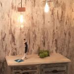 Licht-Trend Vaya / Retro Glas-Pendelleuchte im zeitlosen Design / Restaurant- & Hotelbeleuchtung