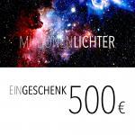 Einkaufsgutschein / 500,- Euro