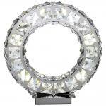 MARILYN I Tischleuchte Kristall chrom, 12W LED / Tischlampe