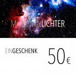 Einkaufsgutschein / 50,- Euro