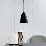 Licht-Trend MiraMira / LED Pendelleuchte Ø 10cm / schwarz