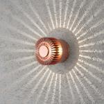 Konstsmide 7900-900 Monza LED Effekt Aussen-Wandleuchte / Kupferfarben