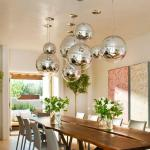 s.LUCE Fairy / Spiegelkugel Pendelleuchte / Restaurant- & Hotelbeleuchtung
