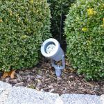 s.LUCE Spike / Aussenstrahler mit Erdspiess GU10 / Aussenstrahler Gartenspot