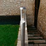 Licht-Trend Rocha / LED-Aussen-Standleuchte / Pollerlampe / Sockellampe Zink