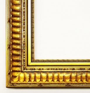 Holz Bilderrahmen Foto Urkunden Rahmen Barock Antik Clever Line 1 Gold 3, 8