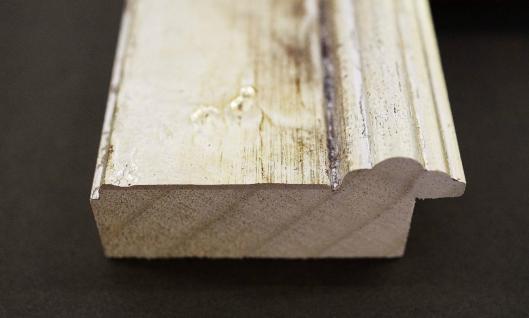 Holz Bilderrahmen Rahmen Barock Klassisch ARABESKE Antik Silber 6 ...