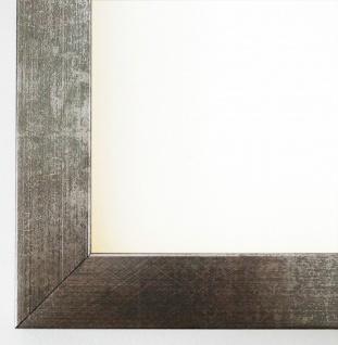 Bilderrahmen Rahmen Holz Foto Urkunden Modern Wolfsburg Silber Metall 3, 0