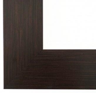 Bilderrahmen Rahmen Holz Modern Art Essen in Braun Struktur 6, 0 - Top Qualität