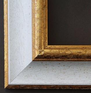 Bilderrahmen Foto Urkunden Rahmen Holz Antik Barock Vintage Acta Weiß Gold 6, 6