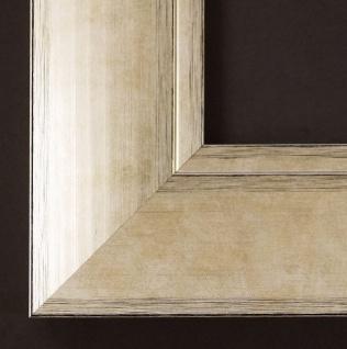 Holz Bilderrahmen Rahmen Foto Urkunden Modern Shabby Corona Champagne Silber 6, 9