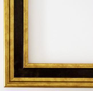 Bilderrahmen Rahmen Holz Foto Urkunden Antik Barock Hamburg Gold Braun 3, 4