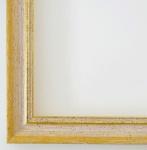 Bilderrahmen Rahmen Holz Klassisch Braunschweig in Gelb Gold 2, 5 - Top Qualität