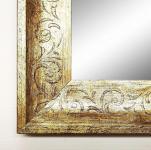 Spiegel Wandspiegel Badspiegel Flurspiegel Antik Barock Holz Mantilla Silber 4, 5