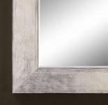Spiegel Wandspiegel Flurspiegel Badspiegel Shabby Modern Holz Corona Silber 3, 8