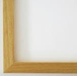 Bilderrahmen Rahmen Holz Modern Oldenburg in Natur Struktur 1, 7 - Top Qualität
