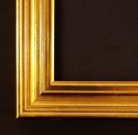 Bilderrahmen Foto Urkunden Rahmen Antik Modern Barock Clever Line 5 in Gold 3, 9