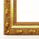 Holz Bilderrahmen Rahmen Barock Antik Druck Van Gogh Antik gold 4, 0 alle Größen
