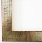 Bilderrahmen Rahmen Holz Modern Art Deco Leverkusen in Silber 3, 3 - Top Qualität