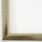 Bilderrahmen Rahmen Holz Modern Art Deco Hannover in Silber 2, 4 - Top Qualität